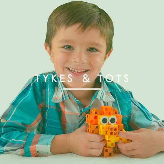Amazon Exclusives: Tykes & Totes