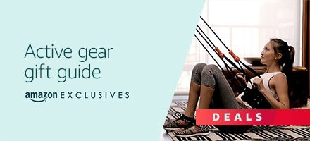Amazon Exclusives: Shop the active gear gift guide
