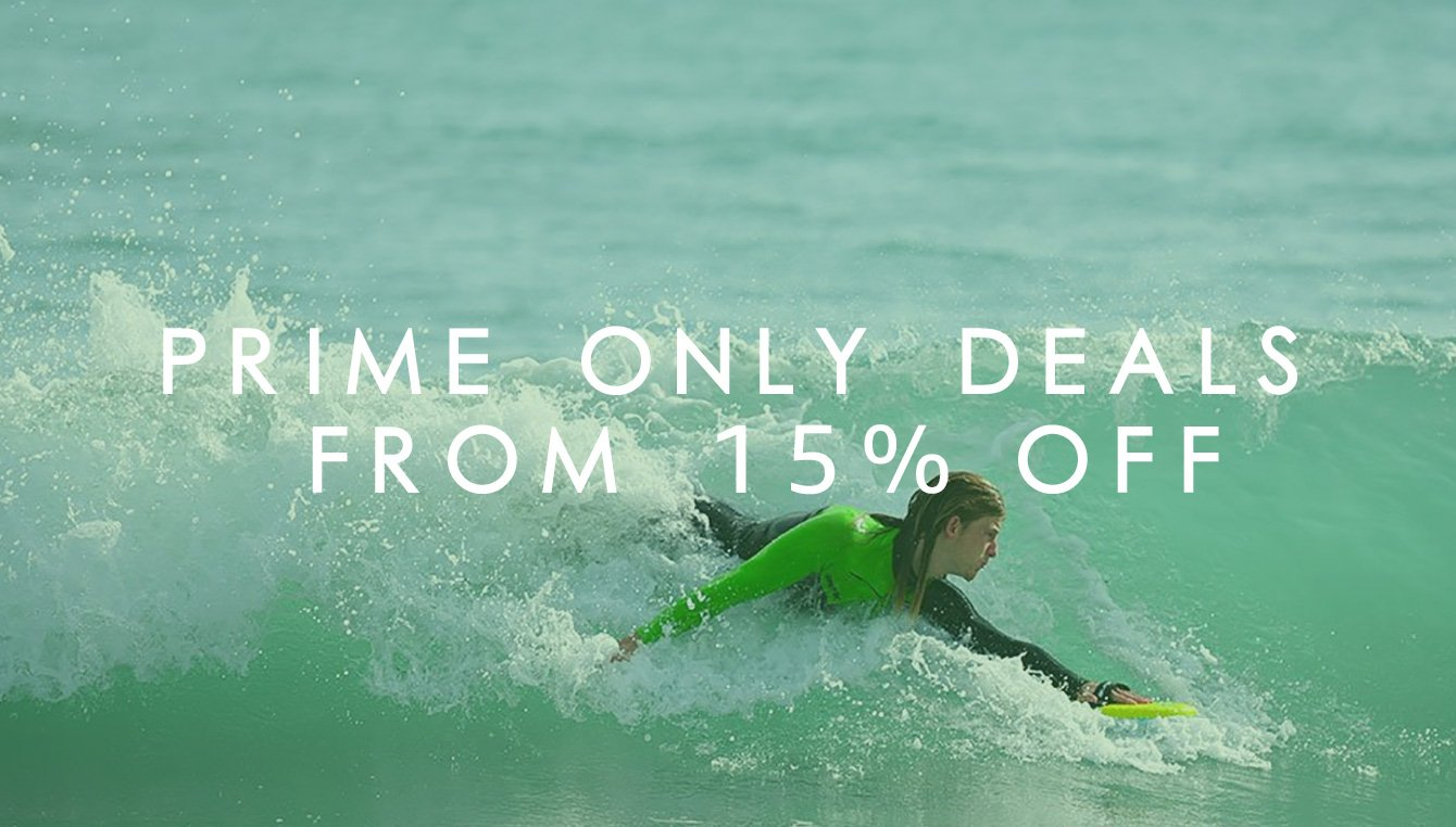 Prime Only Deals From 15% Off