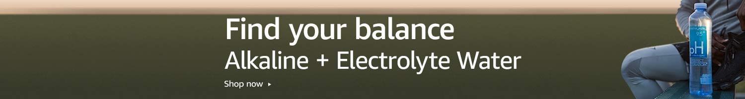 Find your balance with Perfect Hydration alkaline and electrolyte water