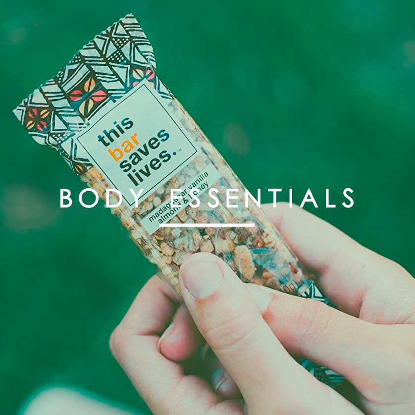 Amazon Exclusives: body essensials