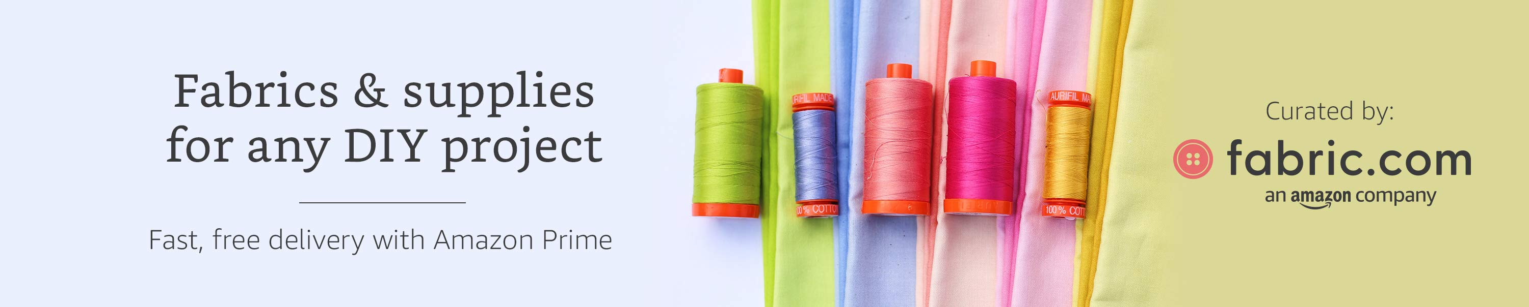 Fabric on Amazon - fabric and supplies for any DIY project, delivered with prime