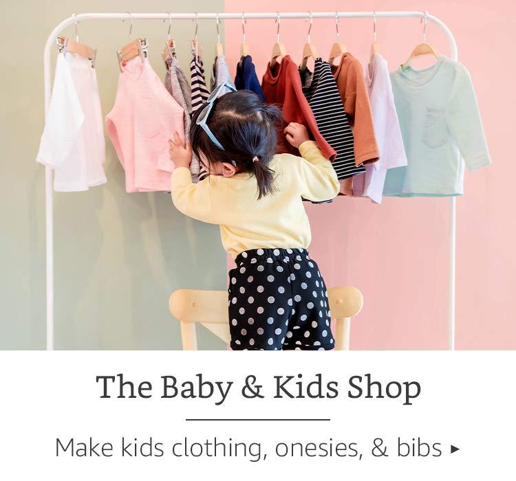 The Baby & Kids Shop - Make kids clothing, onesies, & bibs