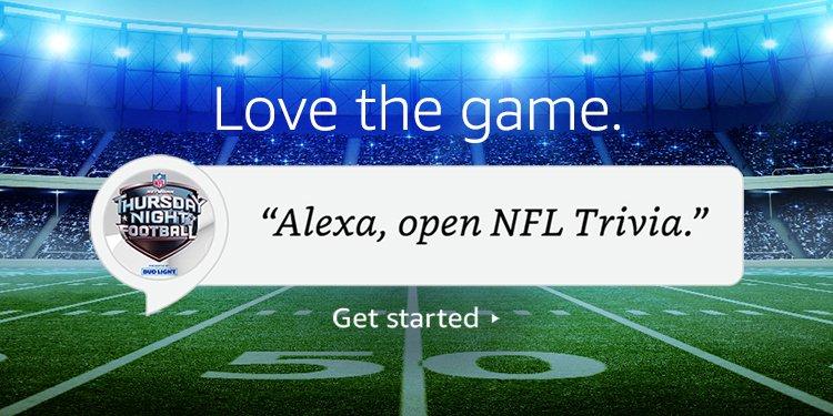 Alexa NFL Skill