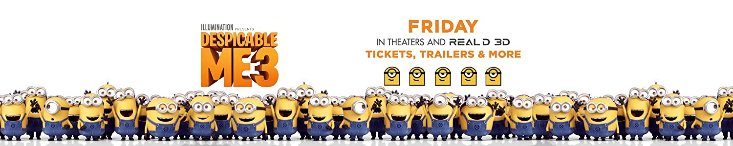 Despicable Me 3: In theaters June 30. Learn more about the movie and what Minions are up to at Amazon today