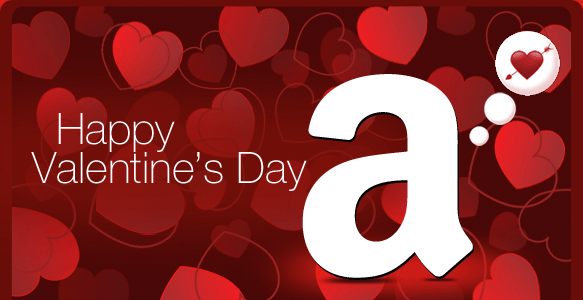 Amazon.com Gift Cards - Facebook Delivery - Happy Valentine's Day