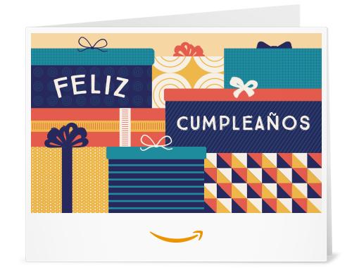 .com: Amazon Gift Card - Print - Paquetes de Cumpleaños: Gift Cards