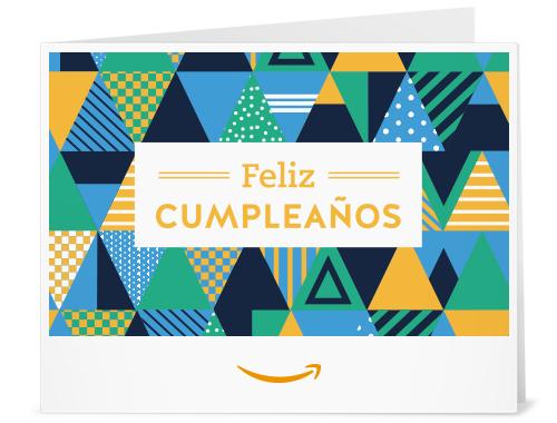 Amazon Gift Card - Print - Sombreros de Fiesta de Cumpleaños