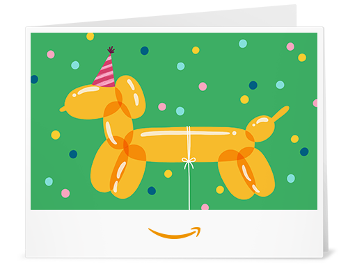 Amazon Gift Card Design