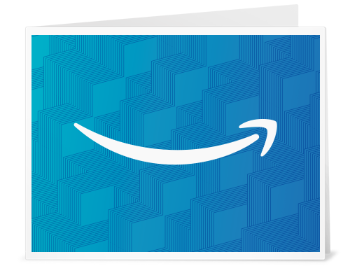 Amazon Gift Card - Print - Light Blue Patterned Smile