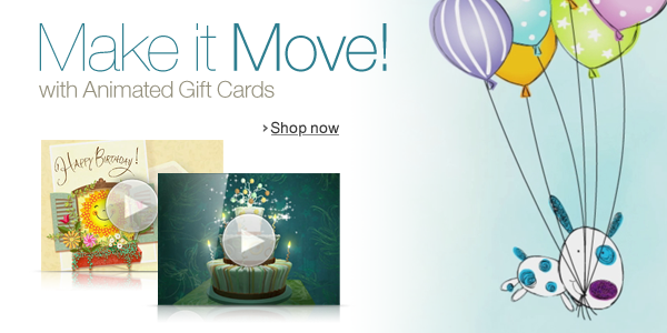 Animated Gift Cards