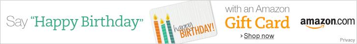 Happy Birthday Gift Cards