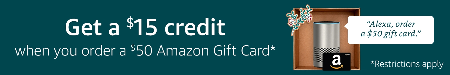 Amazon.com: Alexa Gift Card Promotion: Gift Cards