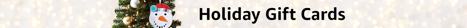 Holiday Gift Cards: Amazon Gift Cards for Christmas, Winter, Hanukkah, Kwanzaa, Season's Greetings, Happy Holidays
