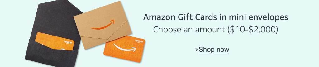 Amazon Gift Card Mini Envelopes