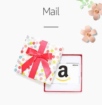 Amazon.com Mail Gift Cards