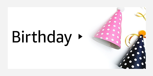 Amazon - Birthday Gift Cards starting at just $25