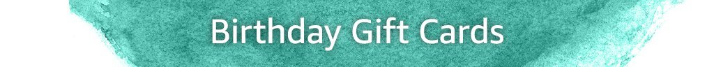 Birthday Gift Cards Header