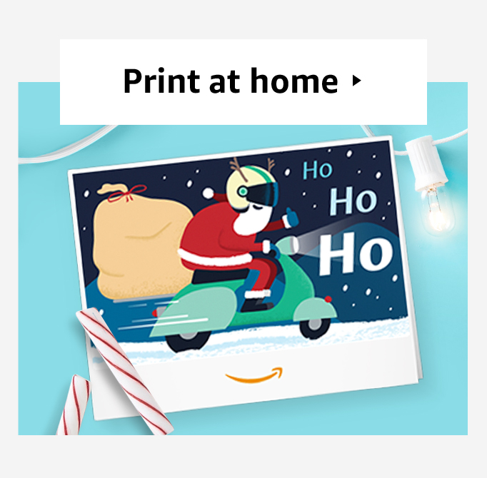 Link for print a gift card at home