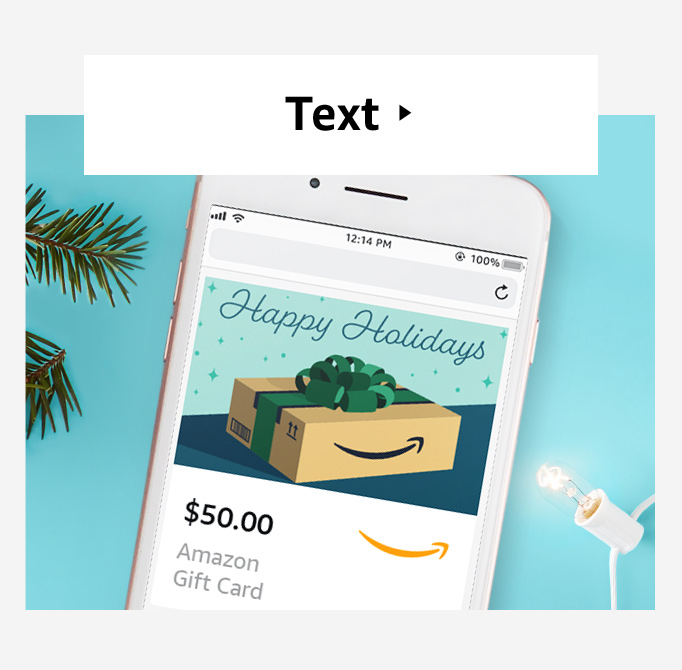 LInk for send a gift card by text
