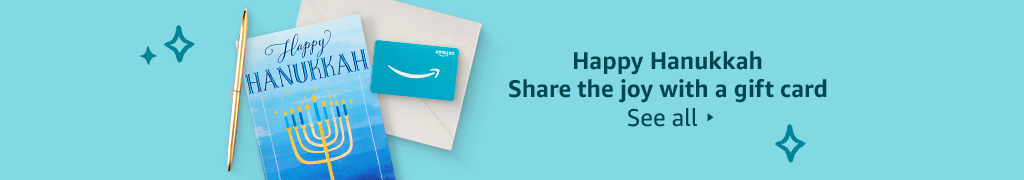 Happy Hanukkah Share the joy with a gift card