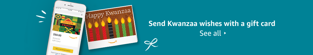 Send Kwanzaa wishes with a gift card