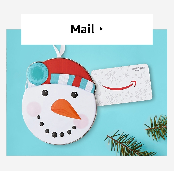 Image for Holiday gift cards by mail