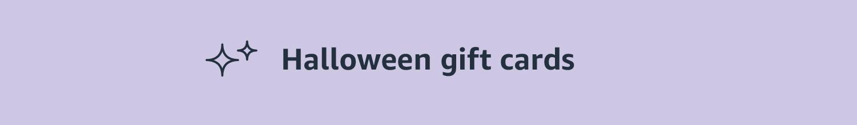 Halloween gift cards header