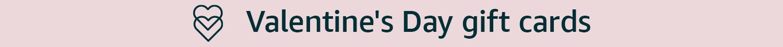 Valentine's Day Gift Cards Header