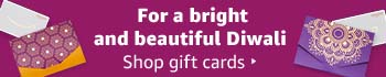 Share the joy of Diwali. Shop gift cards.