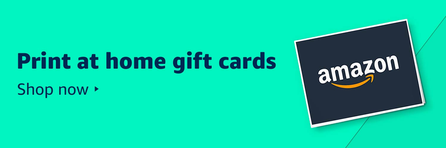 Print at home gift cards