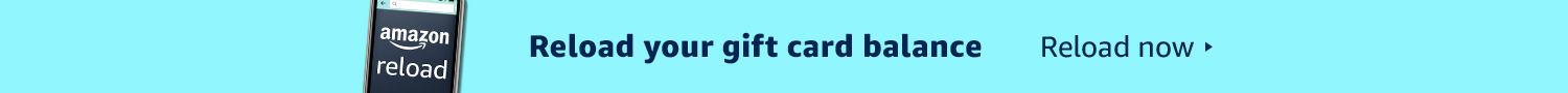Reload your gift card balance