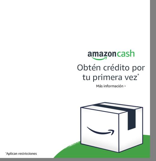 Amazon Cash | Obtén crédito por tu primera vez* | Más infromatión> | *