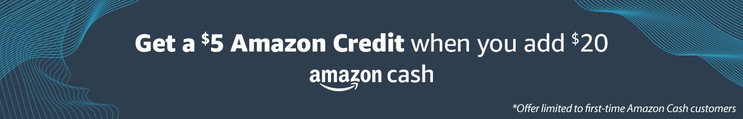 Amazon Cash | Shop without a debit or credit card