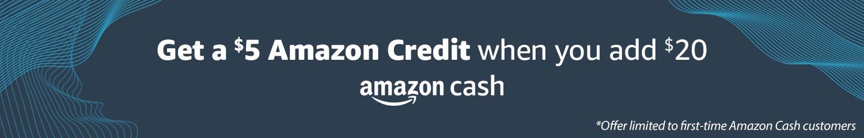 Amazon Cash | Landing page 2020
