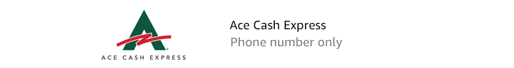 Ace Cash Express | Phone number only
