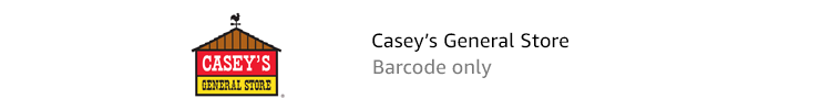 Casey's General Store | Barcode only