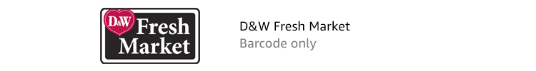 D&W Fresh Market | Barcode only