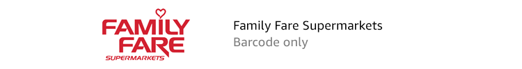 Family Fare Supermarkets | Barcode only