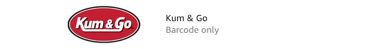 Kum & Go | Barcode only