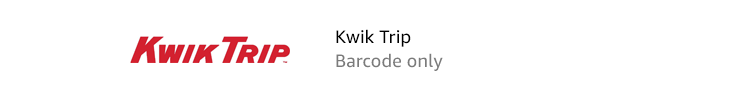 KwikTrip | Barcode only