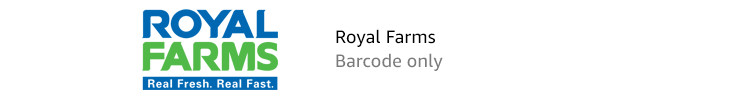 Royal Farms | Barcode only