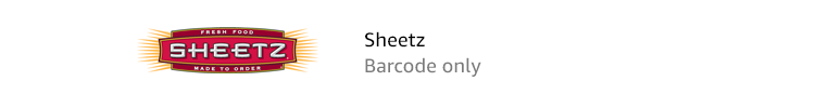 Sheetz | Barcode only