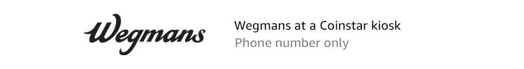 Wegmans | Wegmans at a Coinstar Kiosk