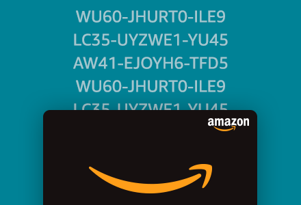 Image of gift card codes