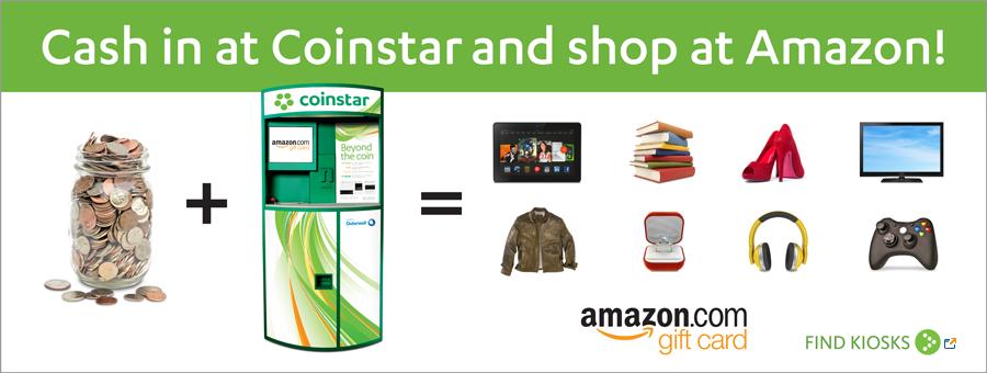 Coinstar Amazon Gift Cards