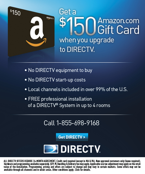 Amazon.com: DirecTV Gift Card Offer