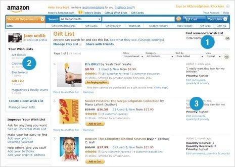 Amazon Wish List – Sample Christmas Wish List