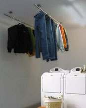 Drying racks save energy and extend the life of your clothes.