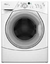 Front load washers use less water than top load washers.